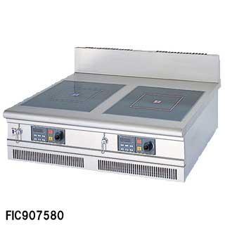 IHコンロ 業務用 フジマック FIC126015FB W1200×D600×H265 メーカー直送/代引不可【】