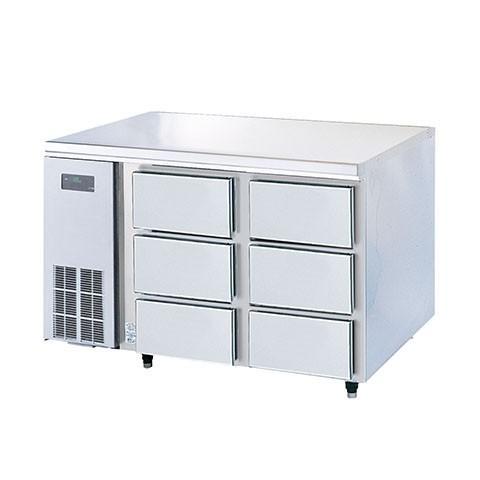 フジマック 冷凍ドロワーコールドテーブル FRFD1275K 【 メーカー直送/代引不可 】