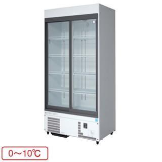 【銀行振込限定価格】福島工業 フクシマ 冷凍機内蔵型 リーチインショーケース 幅900mm 奥行450mmタイプ MSU-090GHWSR