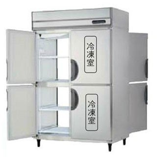 【銀行振込限定価格】幅1200mm タテ型 パススルー冷凍冷蔵庫 PRD-122PM3