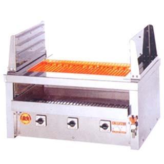 焼き台 業務用 ヒゴグリラー 電気グリラー 二刀流タイプ卓上型 3H-212YC メーカー直送/代引不可【】