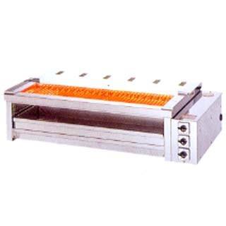 焼き台 業務用 ヒゴグリラー 電気グリラー 二刀流タイプ卓上型 3H-212YCW メーカー直送/代引不可【】