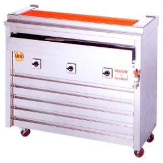 ヒゴグリラー 焼き鳥焼き機 焼鳥[大串]専用タイプ床置型 3P-212X メーカー直送/代引不可【】