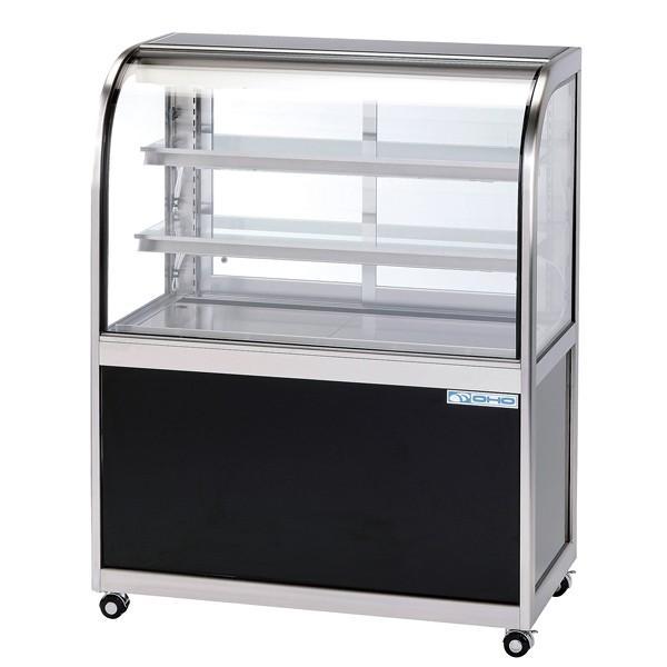 低温冷蔵ショーケース OHGF-Ta型(3段式・中棚2枚) OHGF-Ta-1500 両面引戸(W)