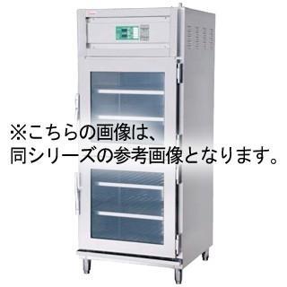押切電機 電気温蔵庫 (両面開扉タイプ・1枚扉・ガラス型) OHS-75-GWA 750×750×1800