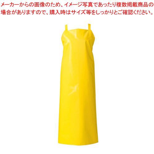 【まとめ買い10個セット品】マイティクロス エプロン胸当てタイプ E1001-33 M イエロー