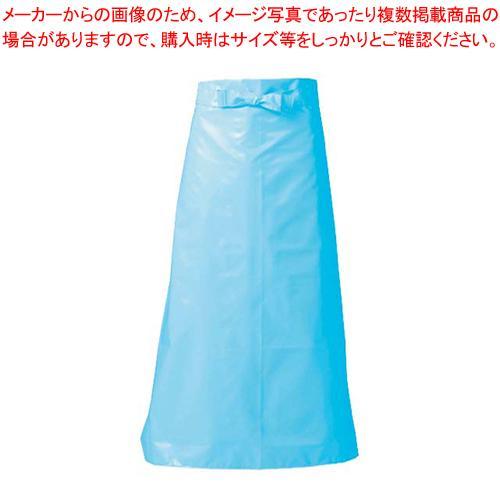 【まとめ買い10個セット品】マイティクロス エプロン 腰下タイプ E1002-1 M ブルー