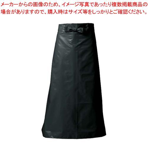 【まとめ買い10個セット品】マイティクロス エプロン 腰下タイプ E1002-7 L ブラック