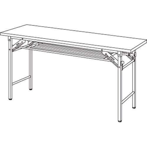 【まとめ買い10個セット品】 折りたたみテーブル YKT-1245(RO) ローズ 1台 【メーカー直送/代金引換決済不可】 【メーカー直送/代金引換決済不可】