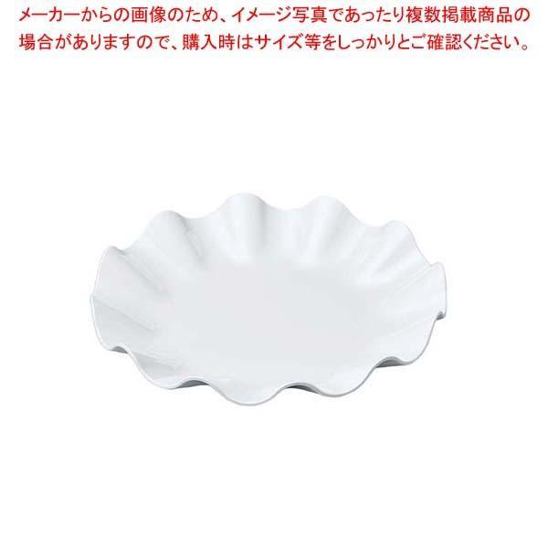 【まとめ買い10個セット品】 ニューホワイト ウェーブ丸盛皿 25cm【 和・洋・中 食器 】
