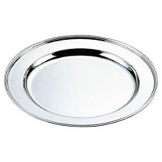 【まとめ買い10個セット品】 H 洋白 丸肉皿 18インチ 二種メッキ