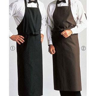 【まとめ買い10個セット品】 エプロン DM-555 [2]No.27 業務用厨房機器 カタログ掲載 プロ仕様 ポイント消化 厨房器具 製菓道具 おしゃれ 飲食店【】