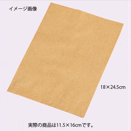 【まとめ買い10個セット品】平袋 クラフト 11.5×16 2000枚