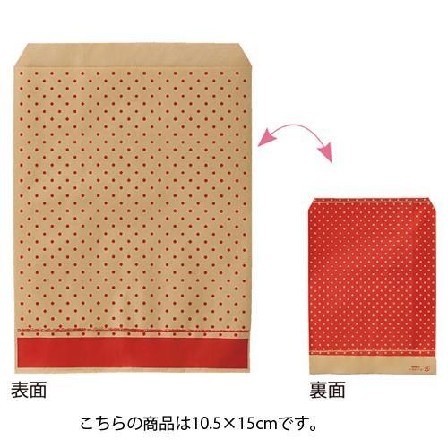 【まとめ買い10個セット品】ピンドット レッド 10.5×15 6000枚