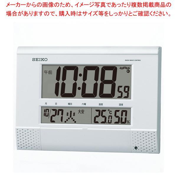 セイコー 電波プログラム付掛置兼用時計 SQ435W