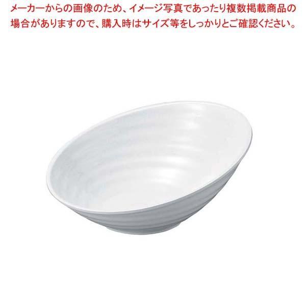 ニューホワイト ロクロ目ハス切盛鉢 46cm