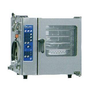 スチームコンベクションオーブン 電気式 スーパースチームシンプルシリーズ 間口600×奥行505×高さ585mm sscs-04mnu メーカー直送/代引不可【】