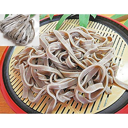 極太 蕎麦 越前そば 6食分 麺つゆ付 太めん 仕立 きしめん 風 そば 半生麺 極 太麺|meisankobo