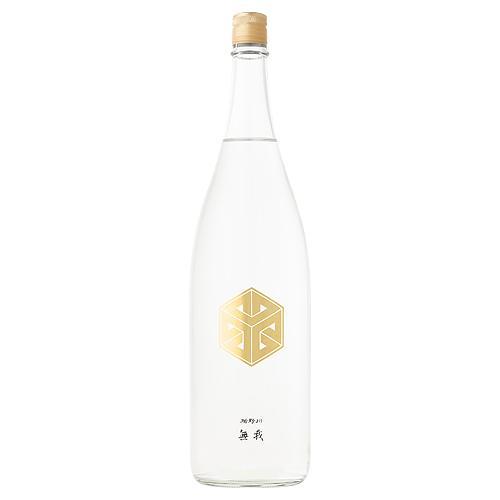 楯野川無我 純米大吟醸 クリアボトル 生酒 1800ml たてのかわむが|meishu-honpo