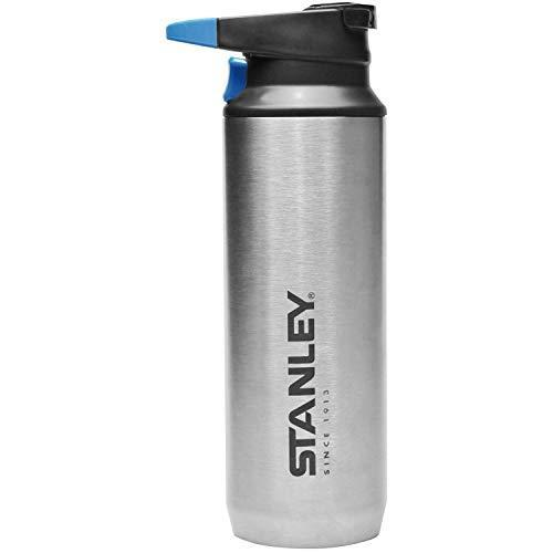 STANLEY(スタンレー) 真空スイッチバック 0.47L シルバー 保冷 保温 ワンタッチ式 マグ 保証 02285-012 (日本正規品)|meki