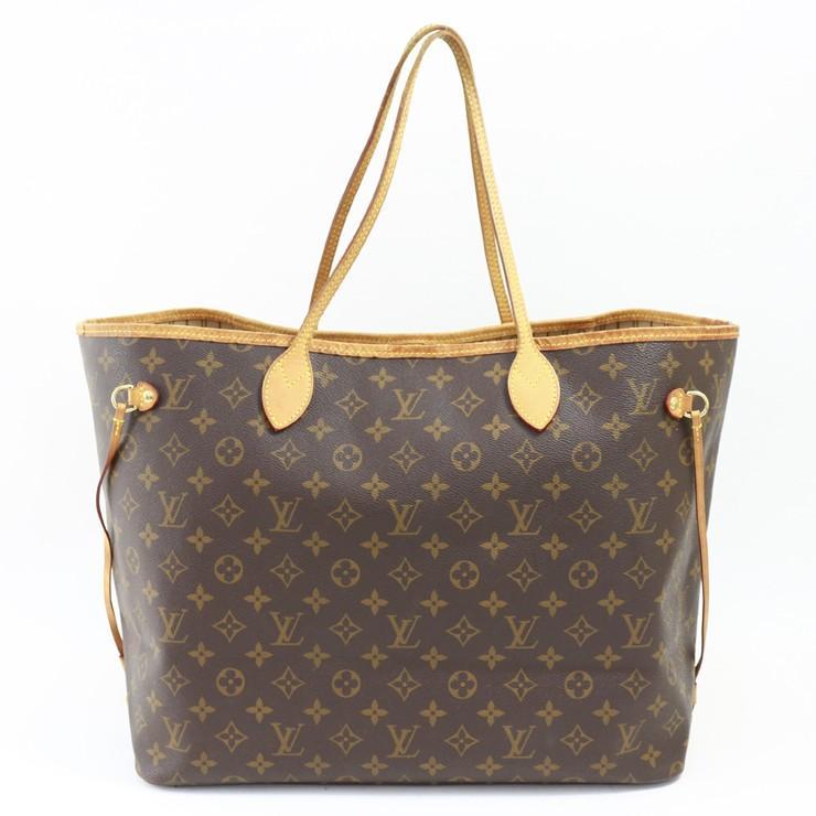 ファッションの ルイヴィトン トートバッグ ネヴァーフルGM モノグラム M40157 ブラウン キャンバス LOUIS VUITTON, HiMeHouse 267c97b4
