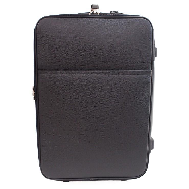 ルイヴィトン スーツケース キャリーケース ペガス55 タイガ M32666 ブラック レザー LOUIS VUITTON
