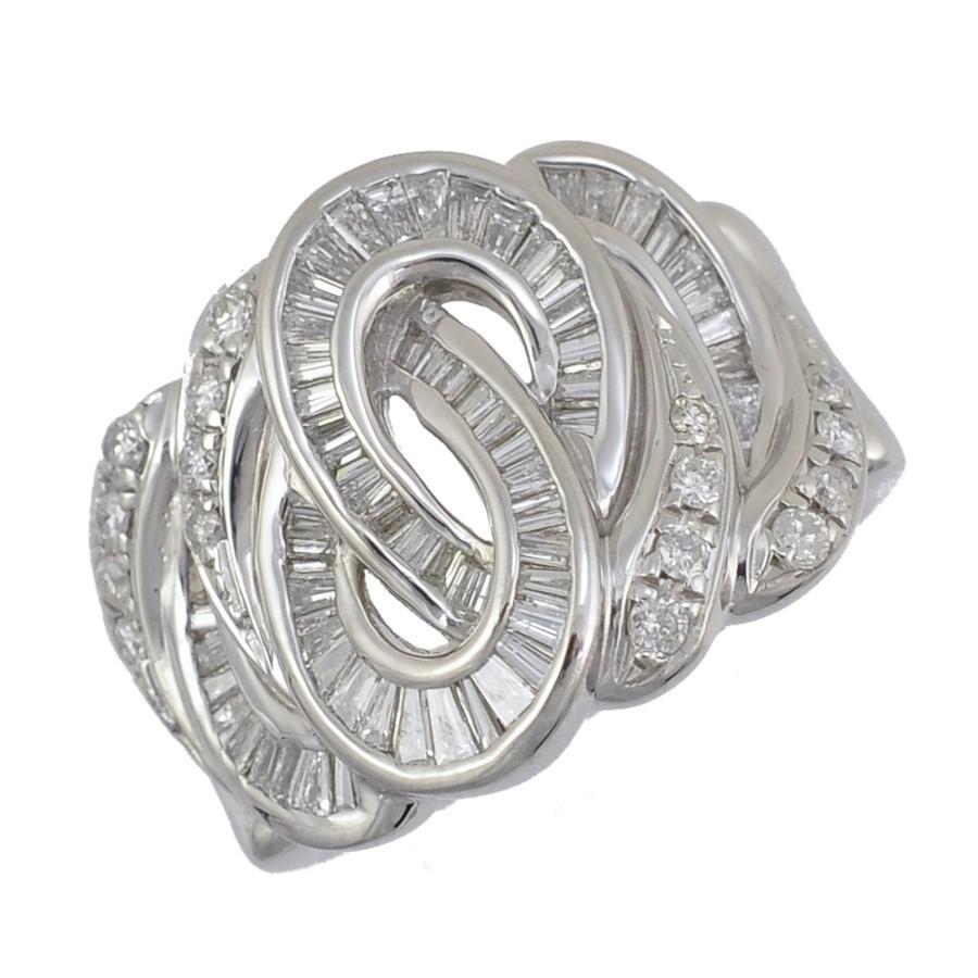 最も信頼できる リング プラチナ900 ダイヤモンド 1.16ct サイズ14.5号 レディース ジュエリー, イーアップ 0595ef9e