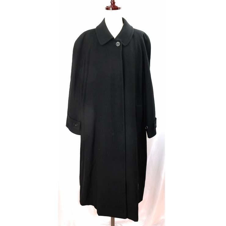 値段が激安 バーバリーズ ステンカラーコート BURBERRYS ブラック ロング丈 レディース アウター 9号, カチーナトレーディング ab2e6e80