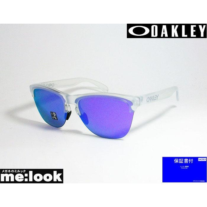 OAKLEY オークリー ミラリ正規品 フロッグスキンライト OO9374-0363 マットクリア/ヴァイオレットイリジウム