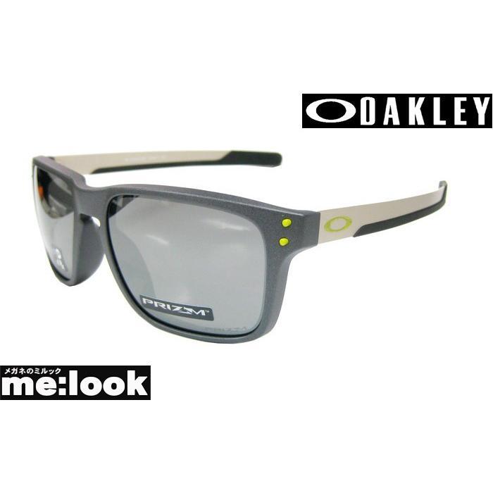 OAKLEY オークリー ミラリ正規品 サングラス Holbrook MIX OO9385-0557 スチール(サテングレイ) /プリズムブラックイリジウム
