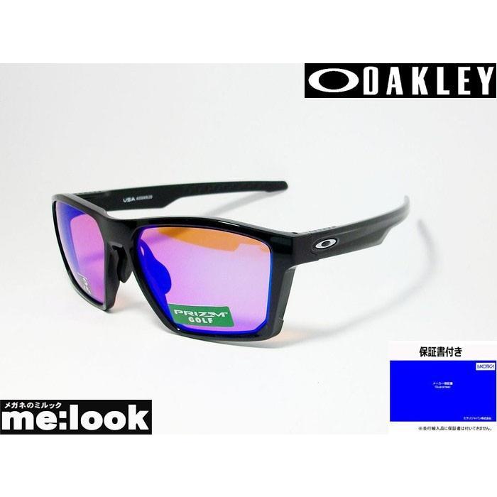 OAKLEY オークリー ミラリ正規品 プリズム TARGET LINE OO9398-0458 Asia Fit ポリッシュドブラック/プリズムゴルフ 度付対応可
