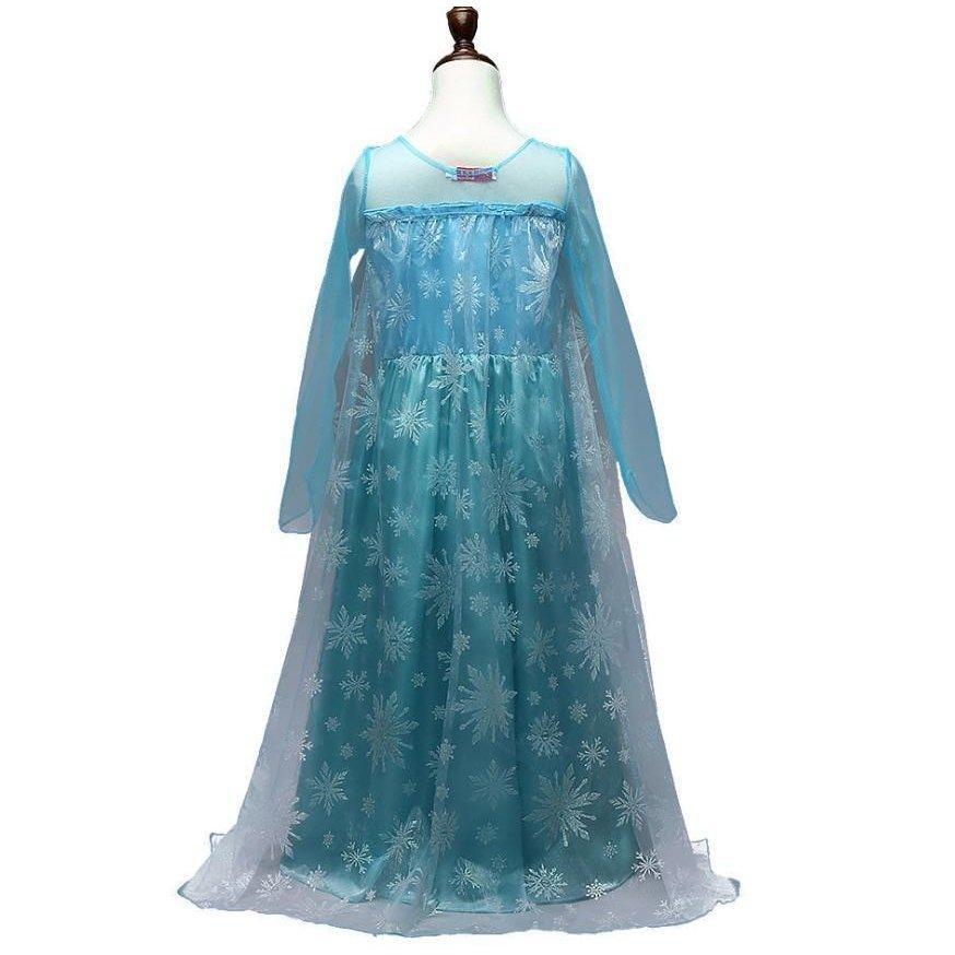 エルサ 風 アナ雪 衣装 コスチューム 子供 ロング ドレス ワンピース クリスマス プレゼント パーティー 豪華8点 セット|mememikan|04