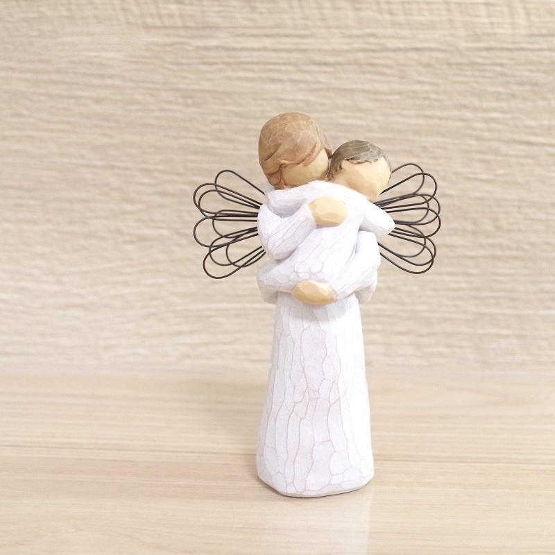 メモリアルオブジェ Angel's Embrace 〜大切にぎゅっと抱きしめて〜 WillowTree|memoriaareca|02