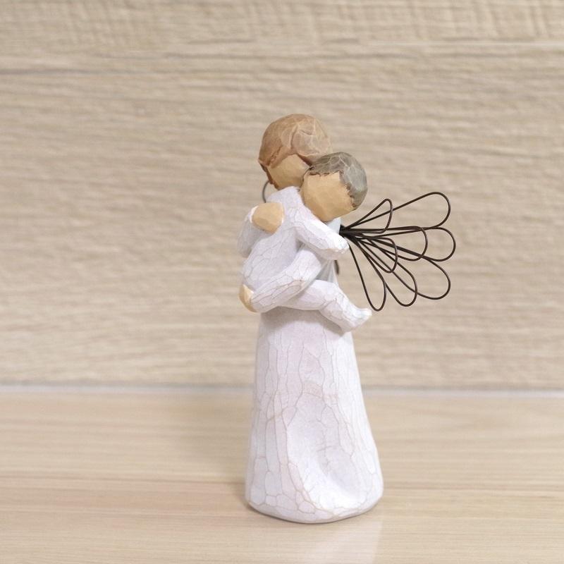 メモリアルオブジェ Angel's Embrace 〜大切にぎゅっと抱きしめて〜 WillowTree|memoriaareca|03