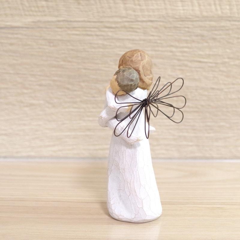 メモリアルオブジェ Angel's Embrace 〜大切にぎゅっと抱きしめて〜 WillowTree|memoriaareca|04