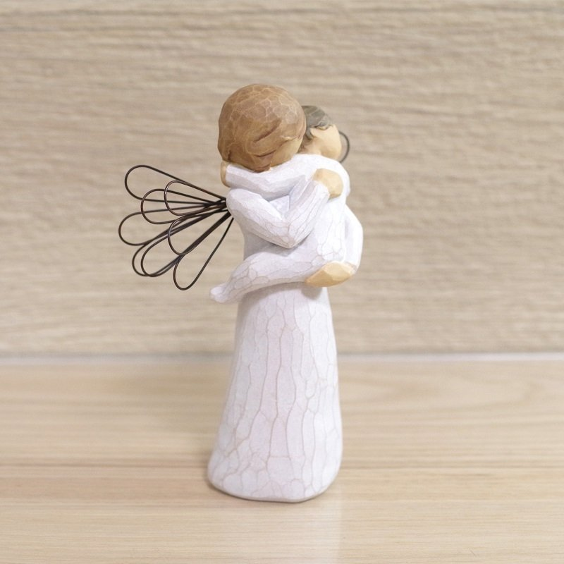メモリアルオブジェ Angel's Embrace 〜大切にぎゅっと抱きしめて〜 WillowTree|memoriaareca|06