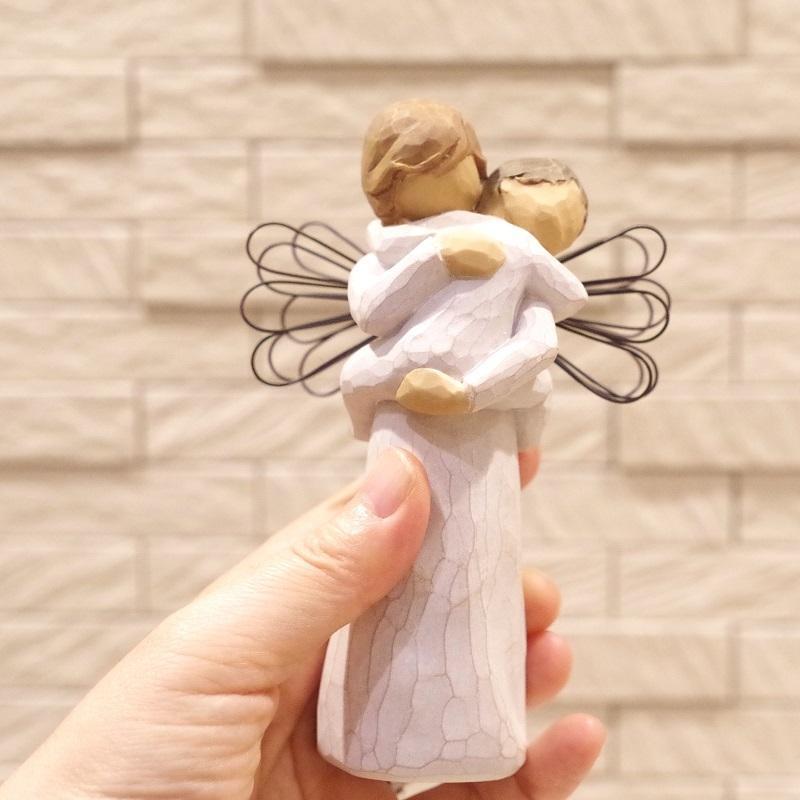 メモリアルオブジェ Angel's Embrace 〜大切にぎゅっと抱きしめて〜 WillowTree|memoriaareca|08