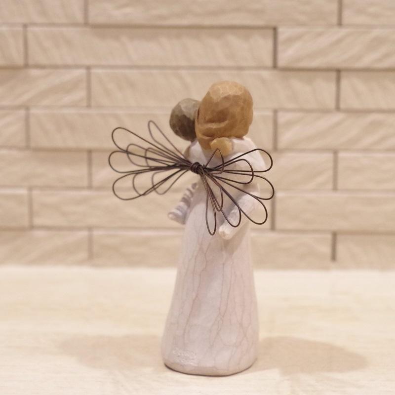 メモリアルオブジェ Angel's Embrace 〜大切にぎゅっと抱きしめて〜 WillowTree|memoriaareca|09