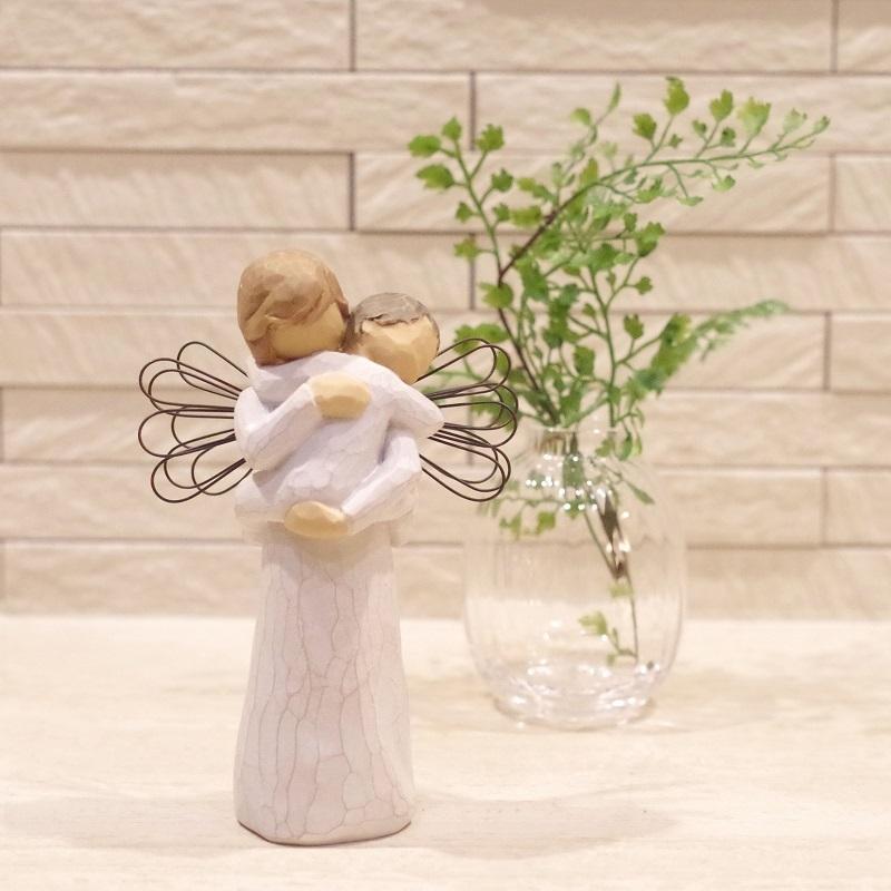 メモリアルオブジェ Angel's Embrace 〜大切にぎゅっと抱きしめて〜 WillowTree|memoriaareca|10