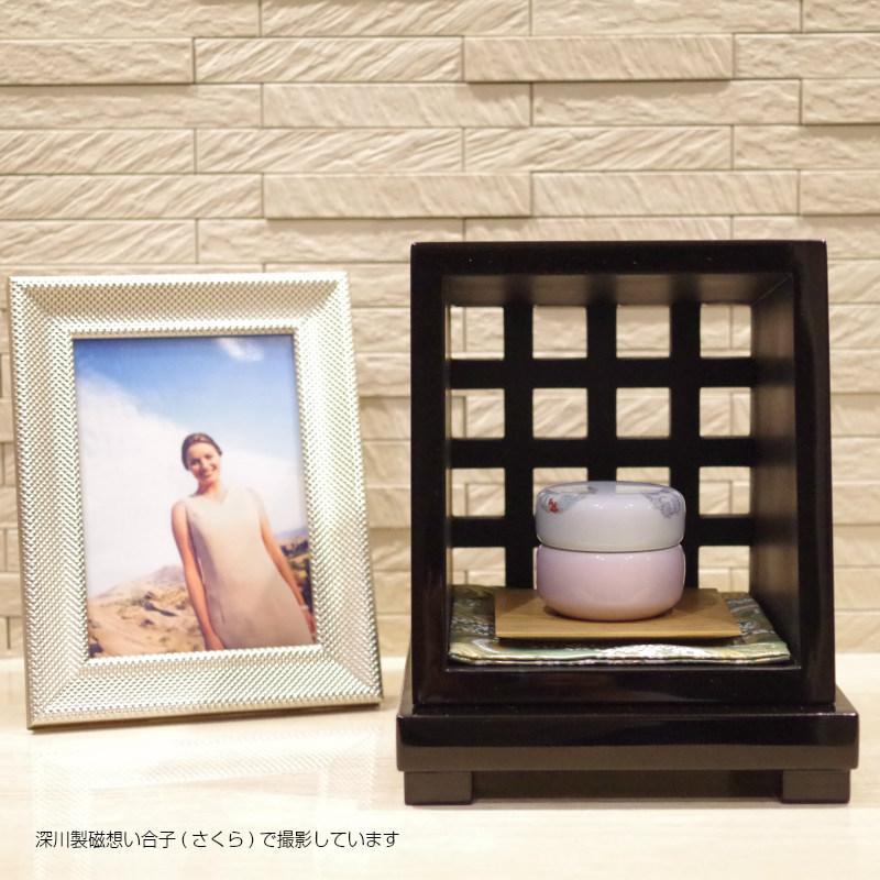 モダンな漆塗のオープン仏壇 祈りのステージ あうん厨子Bタイプ|memoriaareca|10