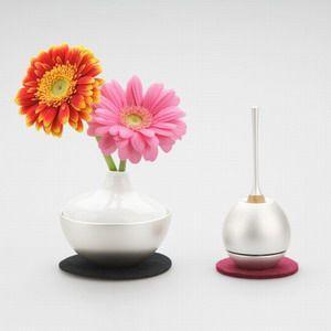 灯立て、花器、香立てがひとつになったグッドデザイン賞受賞仏具 チェリング[シルバー]|memoriaareca|04