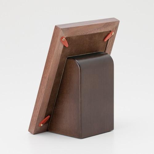 写真立タイプの手元供養骨壷 メモリアルフォトスタンド ウッドコンビ memoriaareca 04