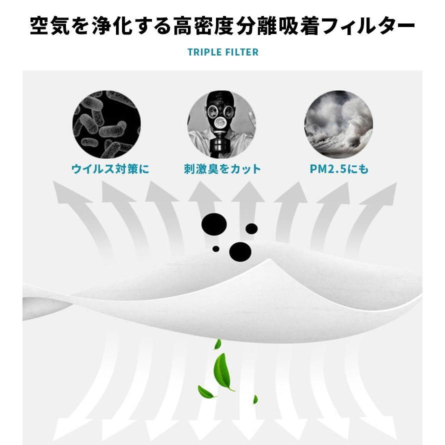 マスク フィルター 100枚セット シート マスク 取り替え ウィルス 不織布 予防 花粉 使い捨て 転売禁止|menstrend|07