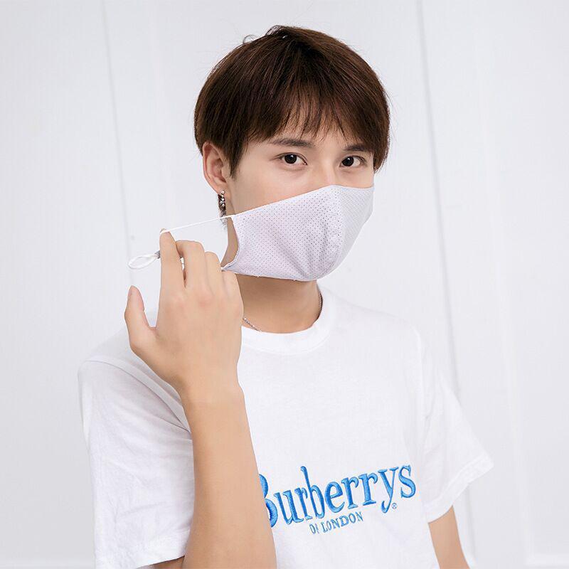 冷感マスク 洗える 3枚セット 子供 大人 マスク 夏用 クール UV 飛沫 花粉対策 立体 ひんやり マスク 接触冷感 メンズ 涼しい 日焼け防止|menstrend|10