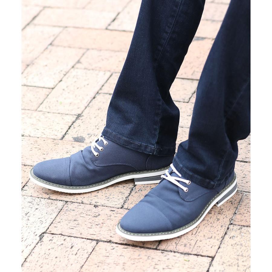 ブーツ メンズ 夏 スエード 靴 ローカット レースアップシューズ プレーントゥ キレイめ おしゃれ 20代 30代 40代 menz-style 11