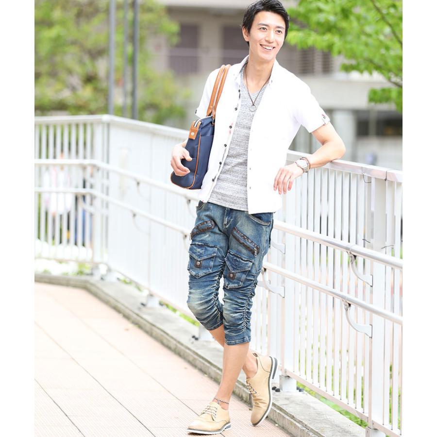 ブーツ メンズ 夏 スエード 靴 ローカット レースアップシューズ プレーントゥ キレイめ おしゃれ 20代 30代 40代 menz-style 15