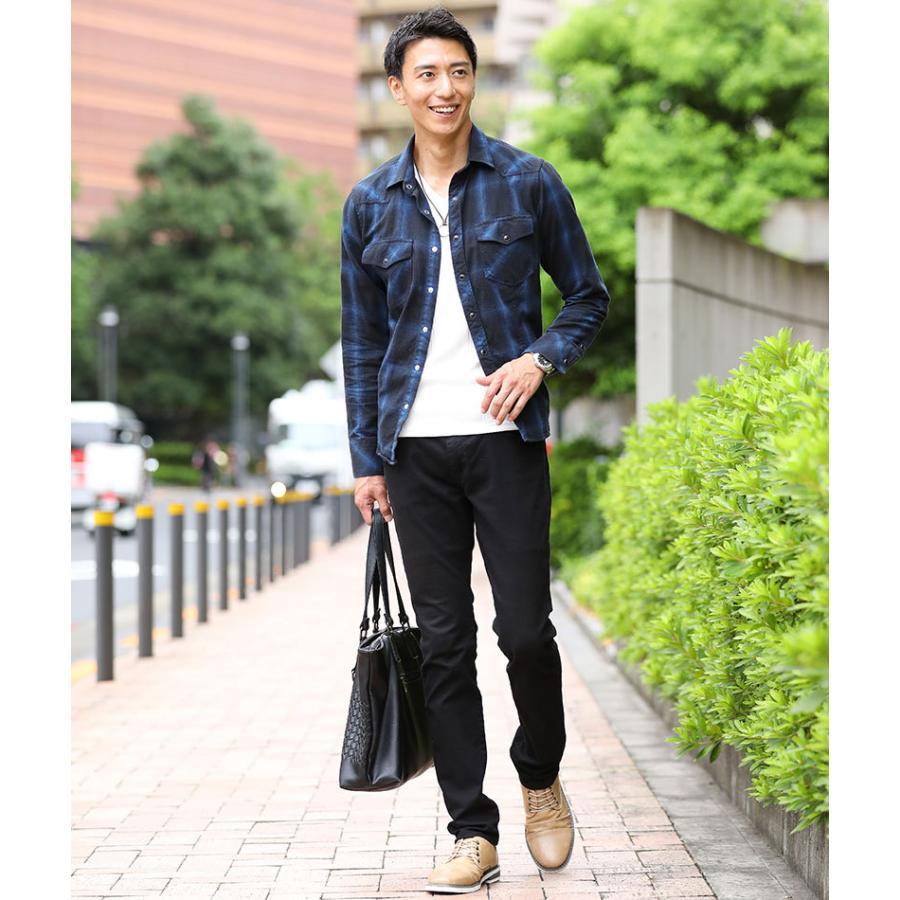 ブーツ メンズ 夏 スエード 靴 ローカット レースアップシューズ プレーントゥ キレイめ おしゃれ 20代 30代 40代 menz-style 16