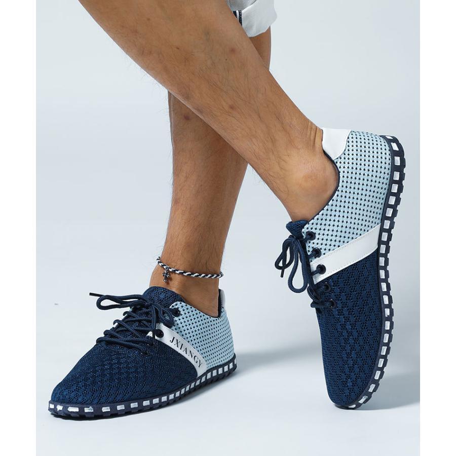 スニーカー メンズ メッシュ カジュアル 靴 おしゃれ 夏 20代 30代 40代 50代|menz-style|12