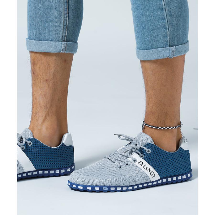 スニーカー メンズ メッシュ カジュアル 靴 おしゃれ 夏 20代 30代 40代 50代|menz-style|14