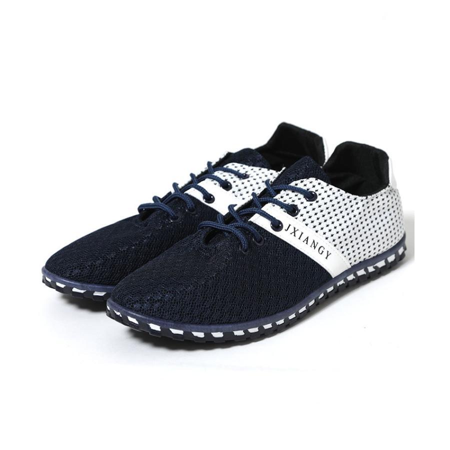 スニーカー メンズ メッシュ カジュアル 靴 おしゃれ 夏 20代 30代 40代 50代|menz-style|16